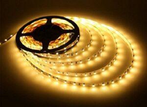 Bandă LED 5050 Lumină Caldă Exterior