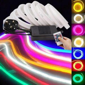 Bandă LED Neon Flex 220V RGB