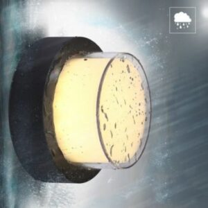 Aplică LED 12W Alb Cald Rotundă Exterior