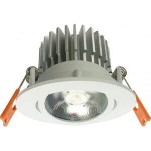 Spot LED 12W Rotund Alb Cald