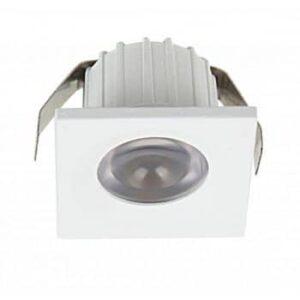 Spot LED Mobilă 3W Pătrat Alb Natural