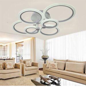 Lustră LED cu Telecomandă Dimabilă 130W