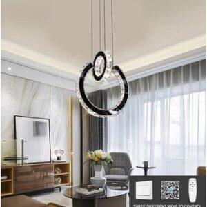 Lustră LED cu Telecomandă