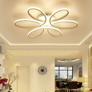 Lustra LED Cu Intensitate Reglabila Si Telecomanda 120W
