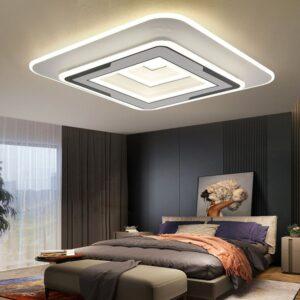 Lustră LED 120W Dimabila Cu Telecomanda