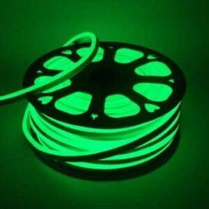 Neon flex LED Verde