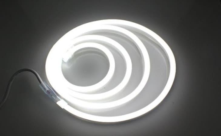banda led neon flex 230v
