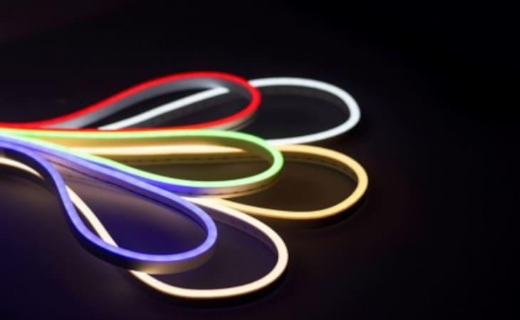 banda led neon flex 24v
