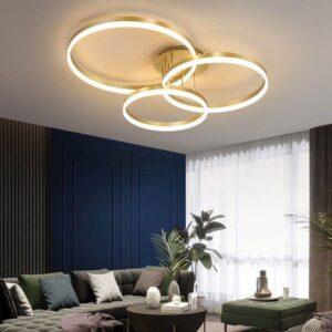 Lustră LED Dimabilă Trei Cercuri