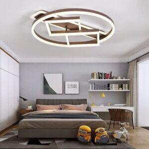 Lustră LED Dimabilă Brown 160W
