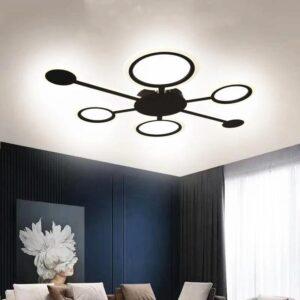 Lustră LED Dimabilă 120W Cu 3 Functii