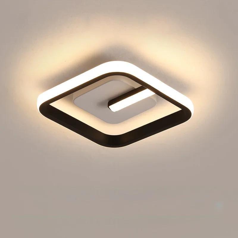 Lustră LED Pătrată
