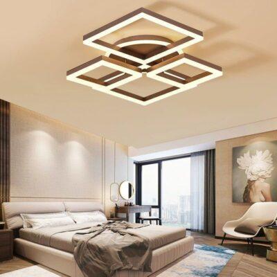 Lustră LED Formă Geometrică