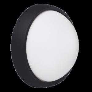 Aplică LED Neagră De Exterior