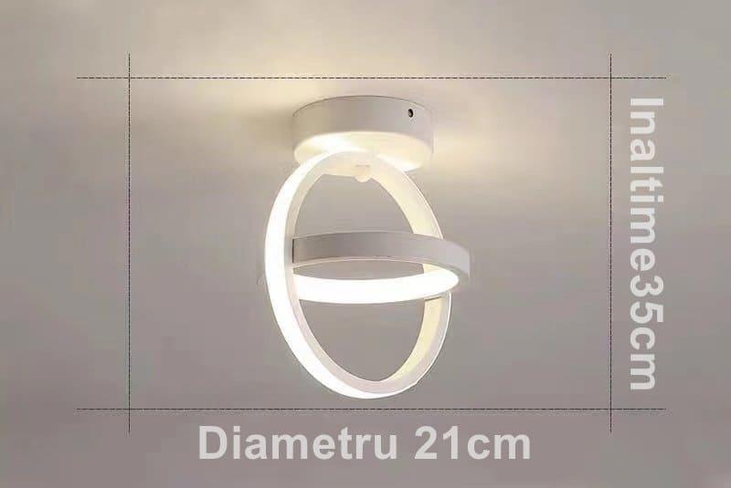 Aplica LED 40W Cu Trei Moduri De Iluminare