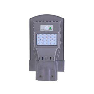 Lampa LED 30W Cu Panou Solar Integrat Si Senzor De Miscare