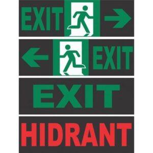 Auto Colant Pentru Lampa Exit LED 30