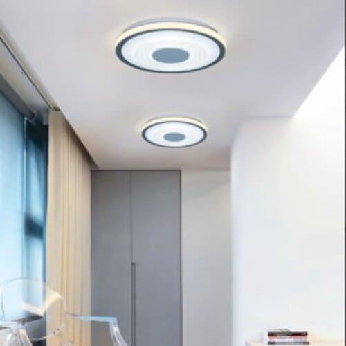 Aplica LED 30W Gri