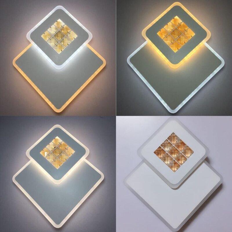 Aplica LED 12W Patrata