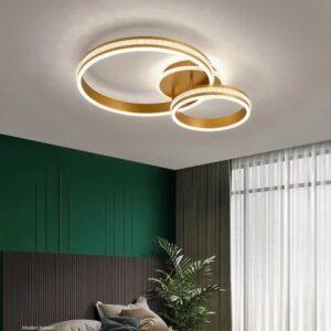 Lustra LED Dimabila Gold