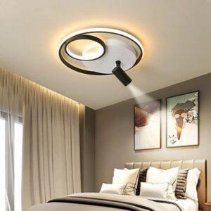 Aplica LED Rotunda Black 65W
