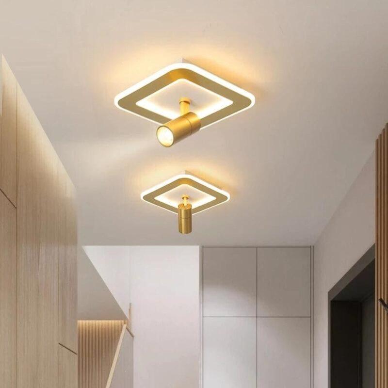 Aplica LED Patrata Gold 20W