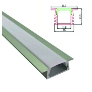 Profil Banda LED Incastrat 2M