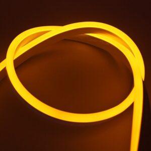Bandă LED Neon Flex Galben 12V 9.6W/m