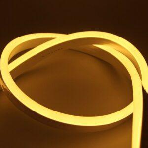 Bandă LED Neon Flex Alb Cald 12V IP65