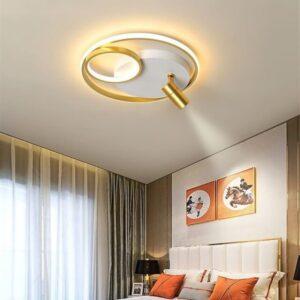 Aplica LED Rotunda Gold 65W