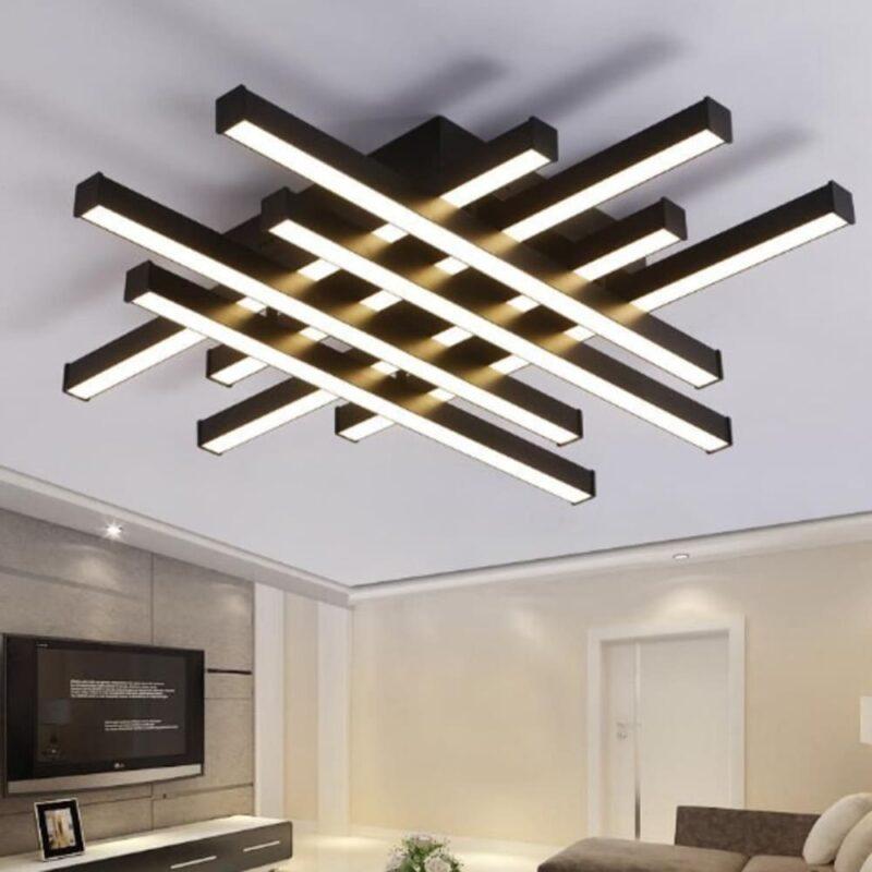 Lustra LED Dimabila 160W Black 2