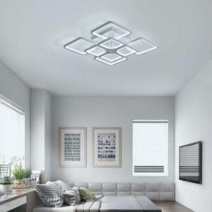 Lustra LED Dimabila Cu Telecomanda 250W