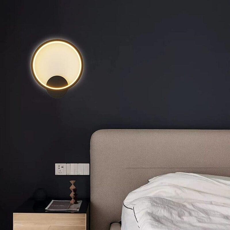 Aplica LED 30W Black