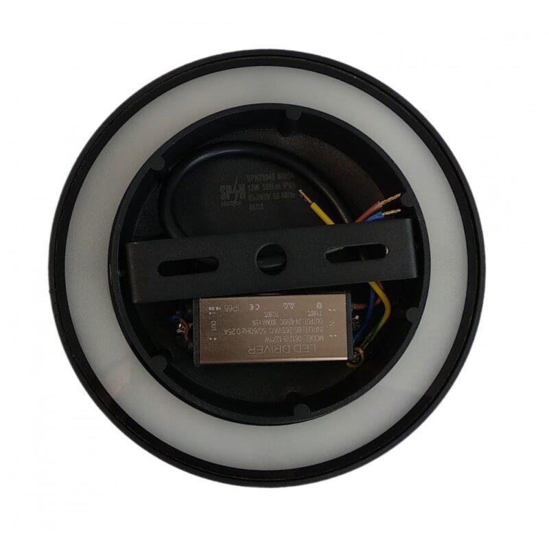 Aplica LED Perete 12W Lumina Rece IP65