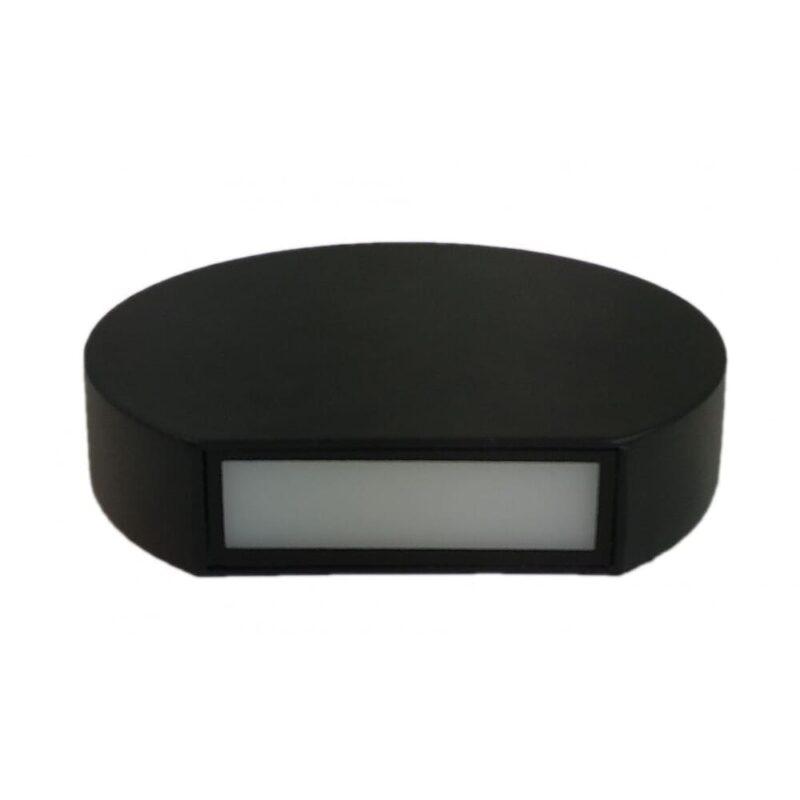Aplica LED 7W Semicerc Lumina Alb Cald IP65