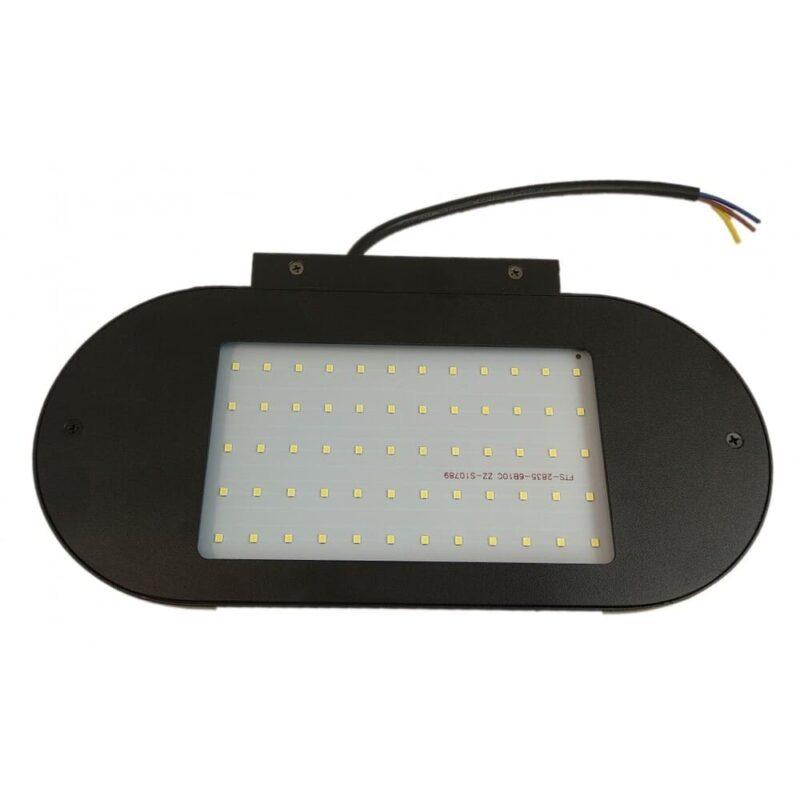 Aplica LED IP65 Black Lumina Rece 12W
